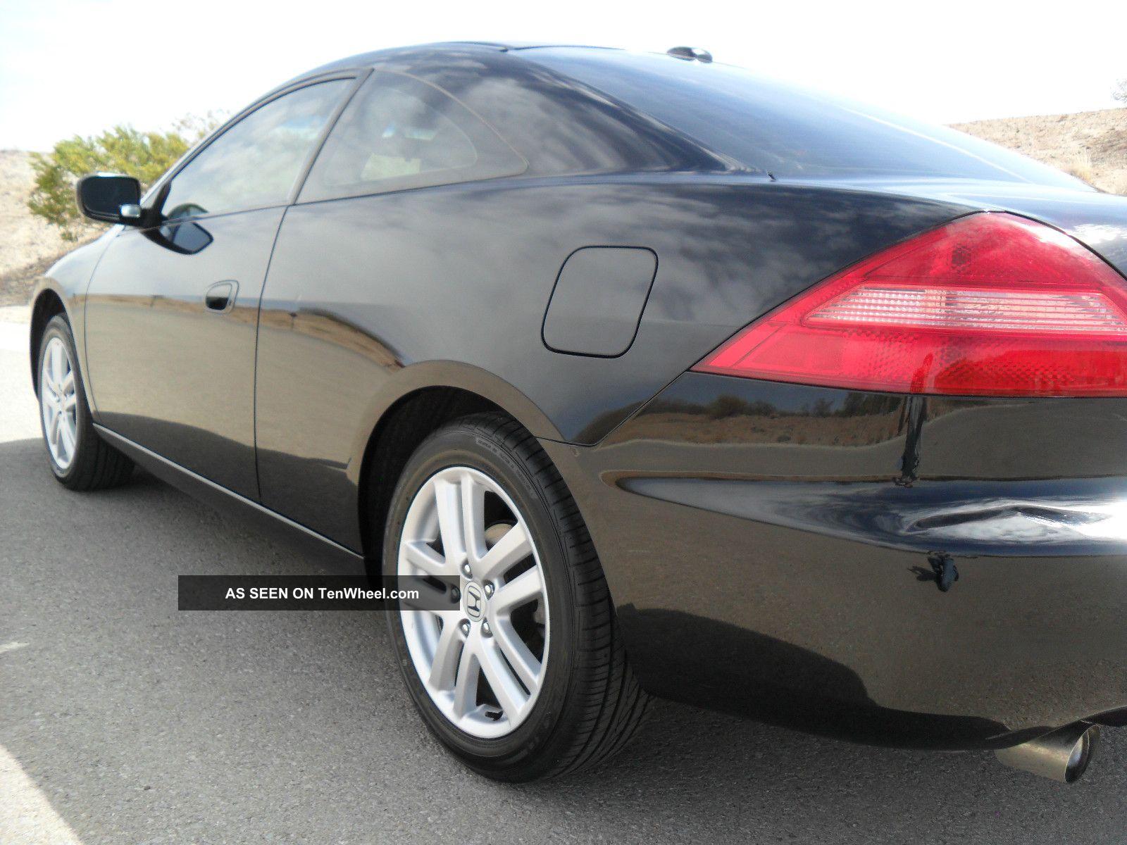 Honda Accord Ex Coupe Door V Manual Black Black No Lgw
