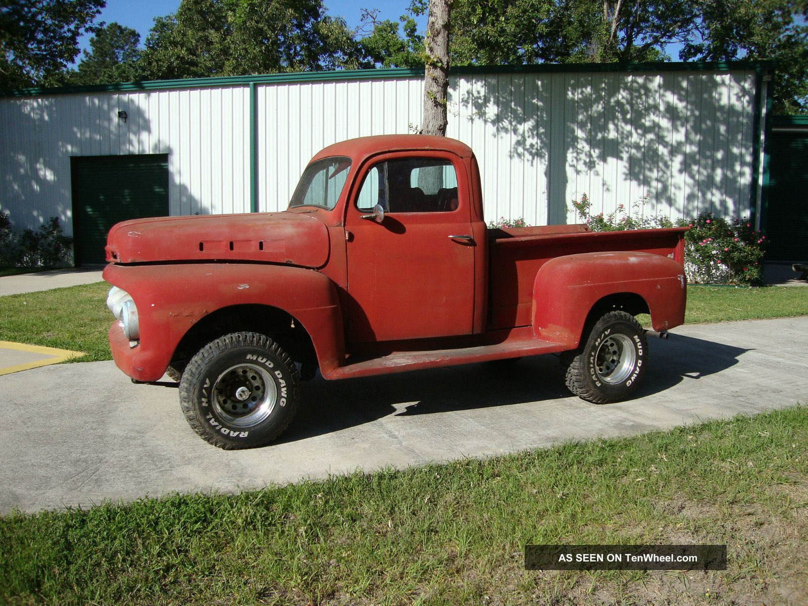 1952 Ford F1 4wd Rat Rod Other Pickups photo