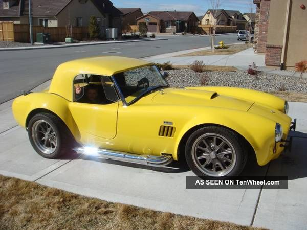 1965 Shelby Cobra 427sc Replica Replica/Kit Makes photo