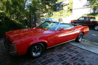 1972 Mercury Cougar Xr - 7 5.  8l Convertible photo