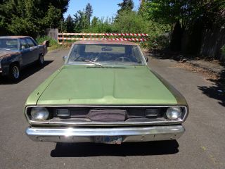 1971 Plymouth Valiant Numbers Matching 318 photo