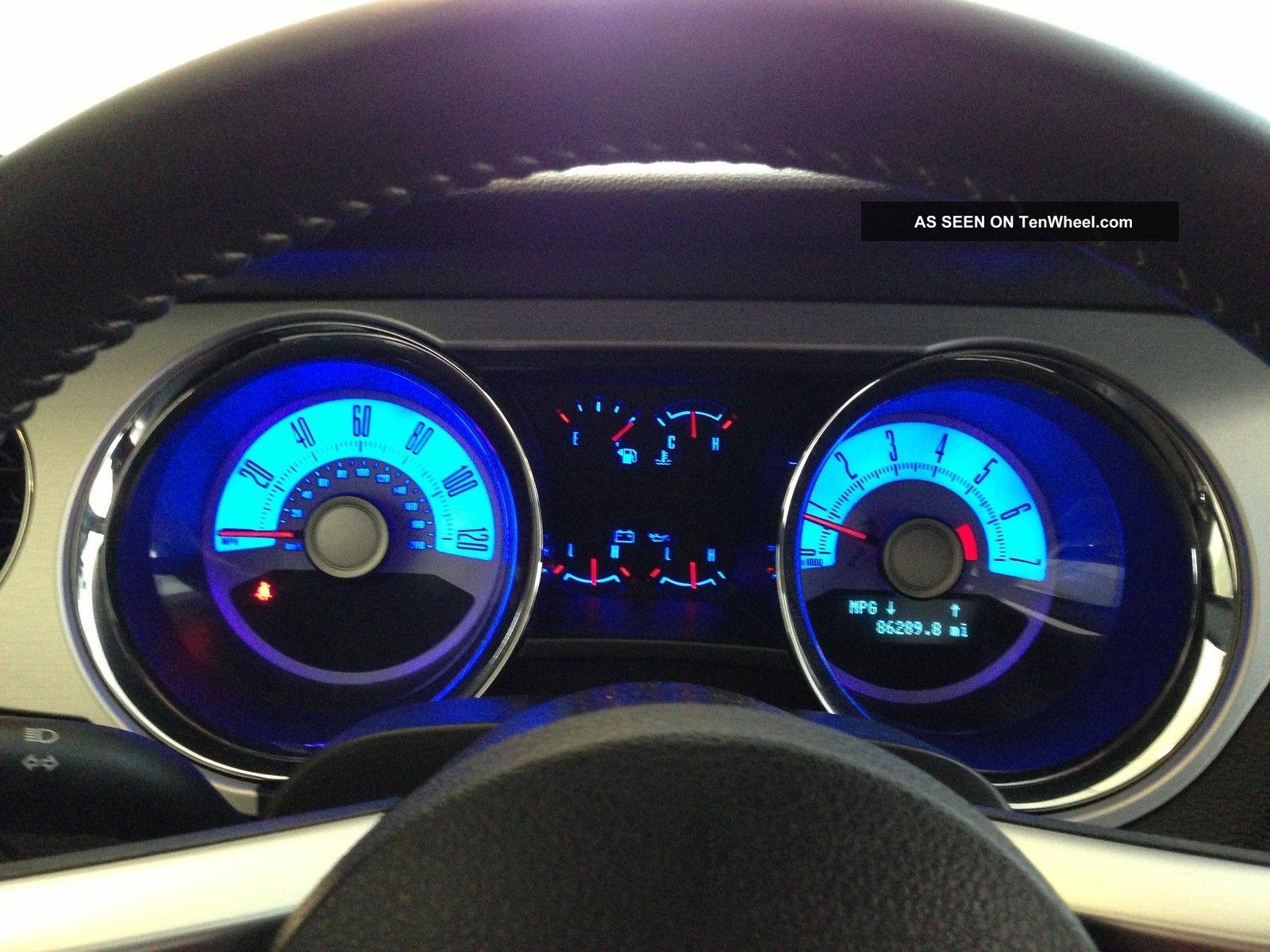 2010 Ford Mustang V6 Premium W Pony Package Grabber Blue