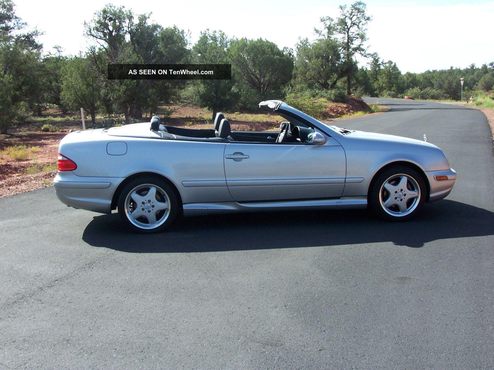 2001 mercedes benz clk430 base convertible 2 door 4 3l. Black Bedroom Furniture Sets. Home Design Ideas