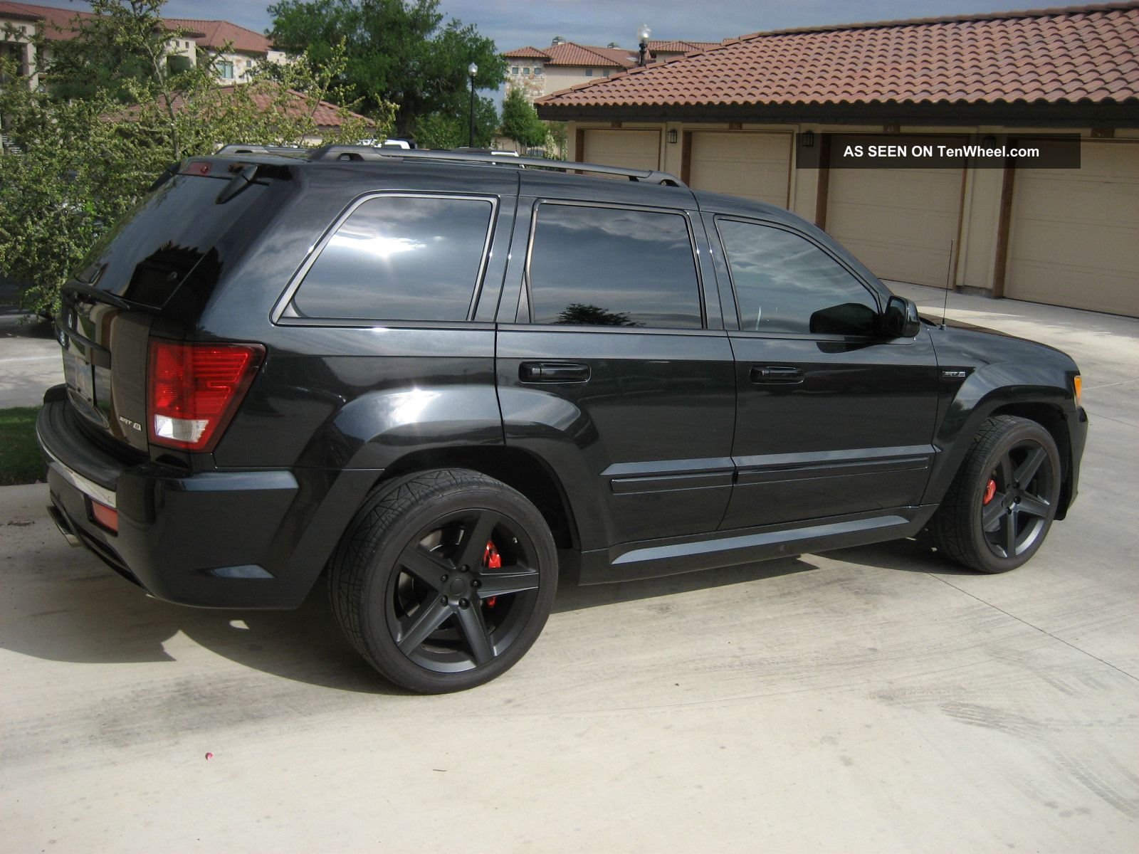 2009 jeep grand cherokee srt8 sport utility 4 door 6 1l. Black Bedroom Furniture Sets. Home Design Ideas