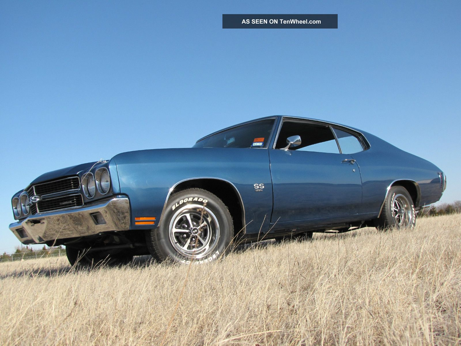 1970 Chevrolet Chevelle Ss 396 350hp 4 - Speed Frame Off F41 Ps Pb Ac With Gm Docs Chevelle photo