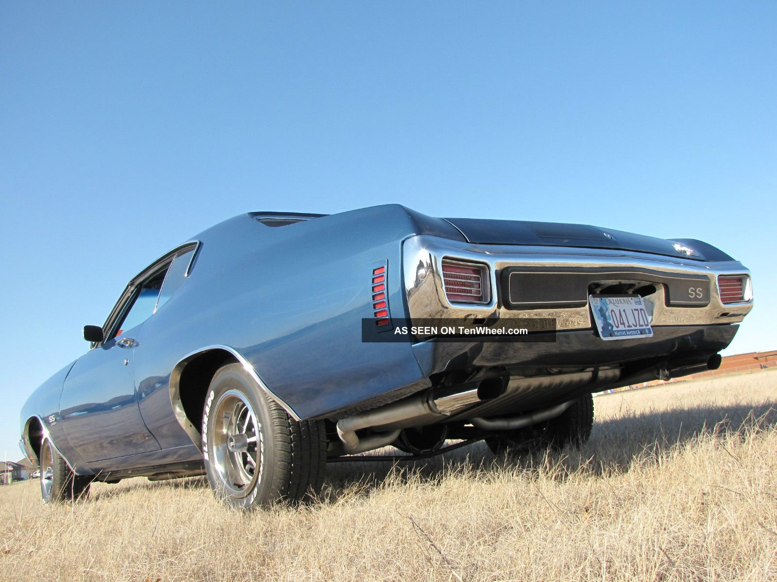 1970 Chevrolet Chevelle Ss 396 350hp 4 - Speed Frame Off F41 Ps Pb ...