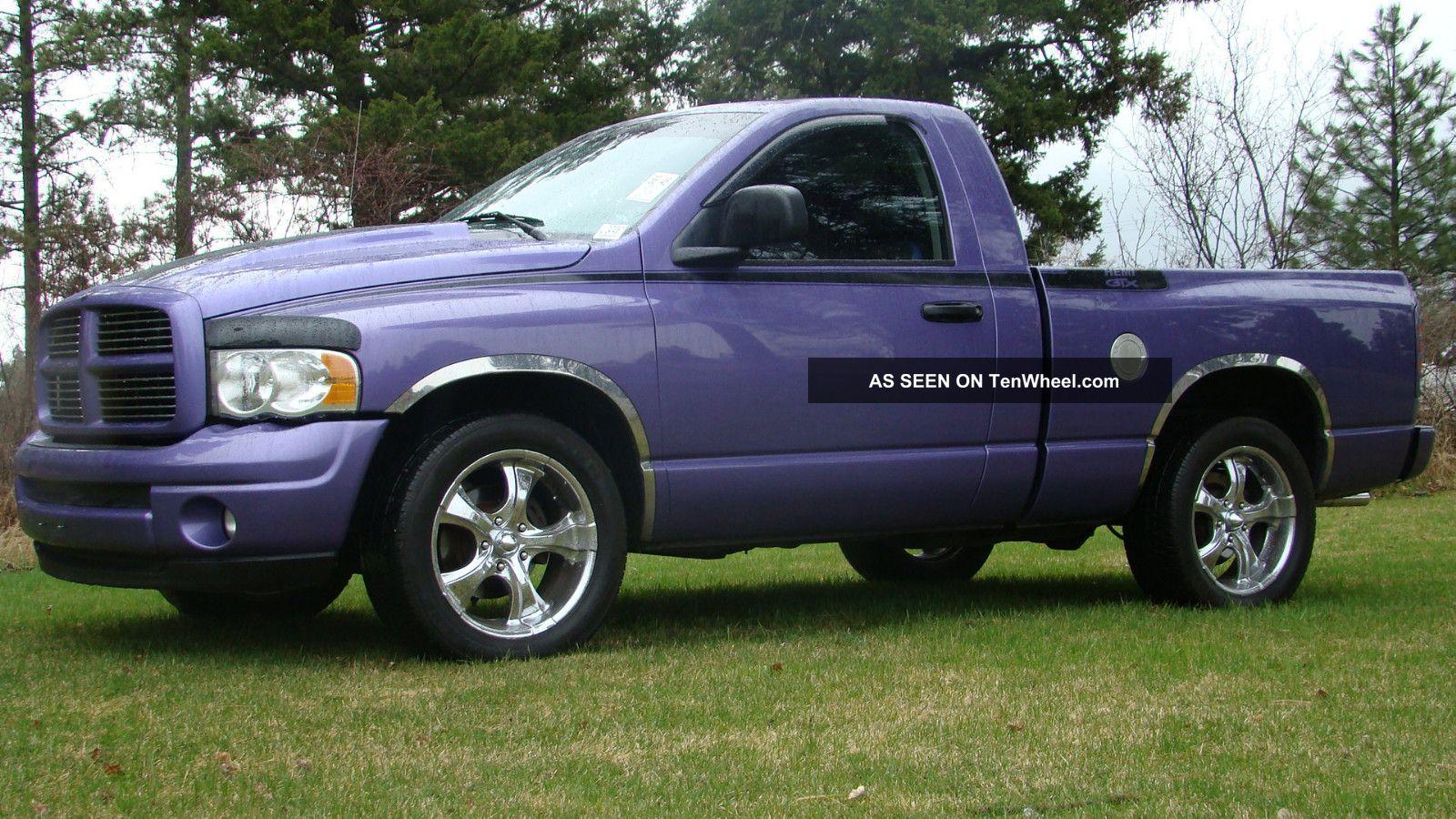 2004 Dodge Ram 1500 Slt Standard Cab Pickup 2 - Door 5.  7l Hemi Gtx Ram 1500 photo