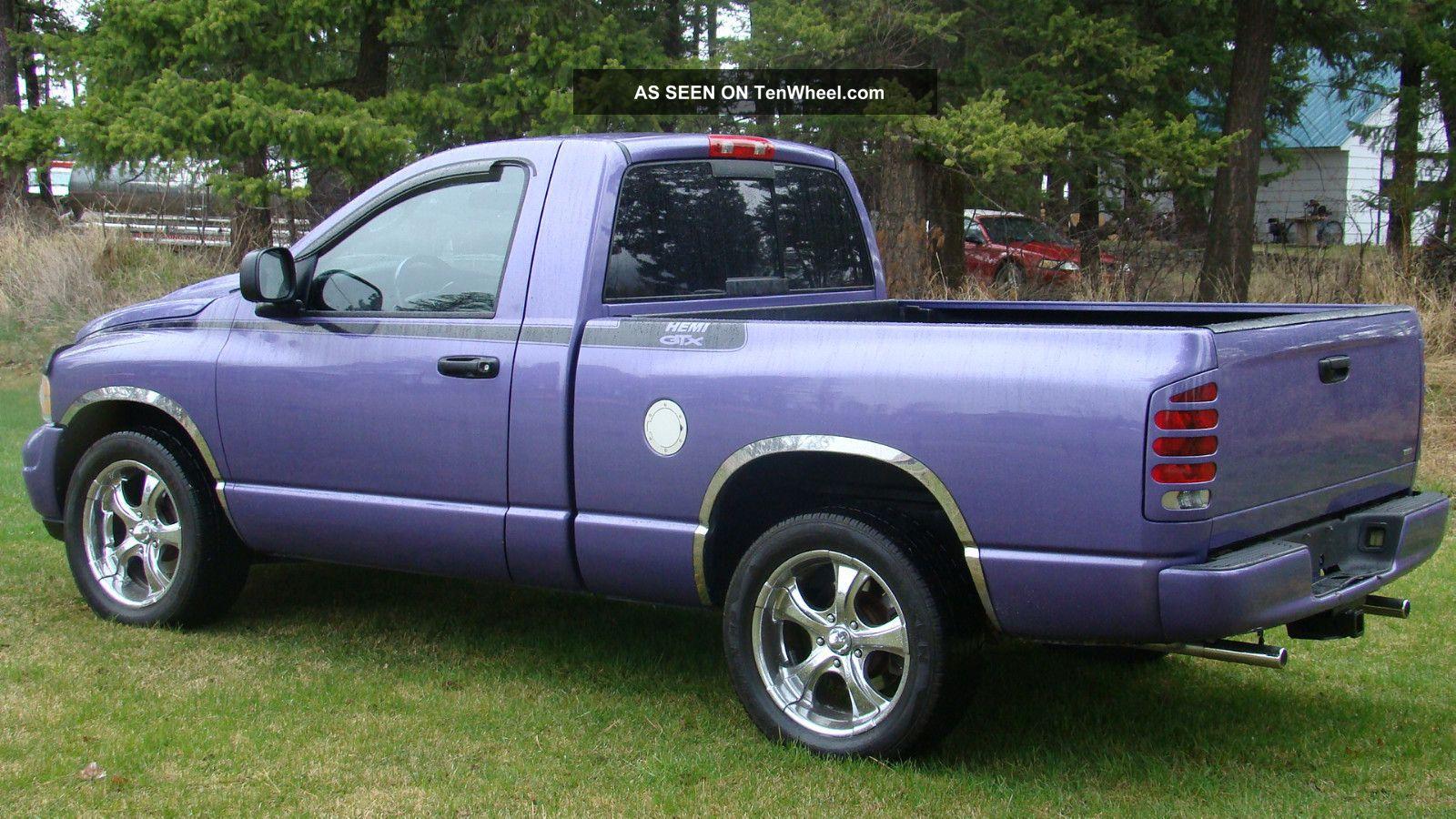 2004 dodge ram 1500 slt standard cab pickup 2 door 5 7l hemi gtx. Black Bedroom Furniture Sets. Home Design Ideas