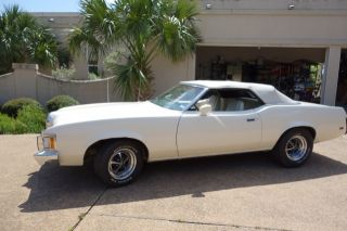 1973 Mercury Cougar Xr7 Convertible,  Newly,  Pristine Interior,  White photo