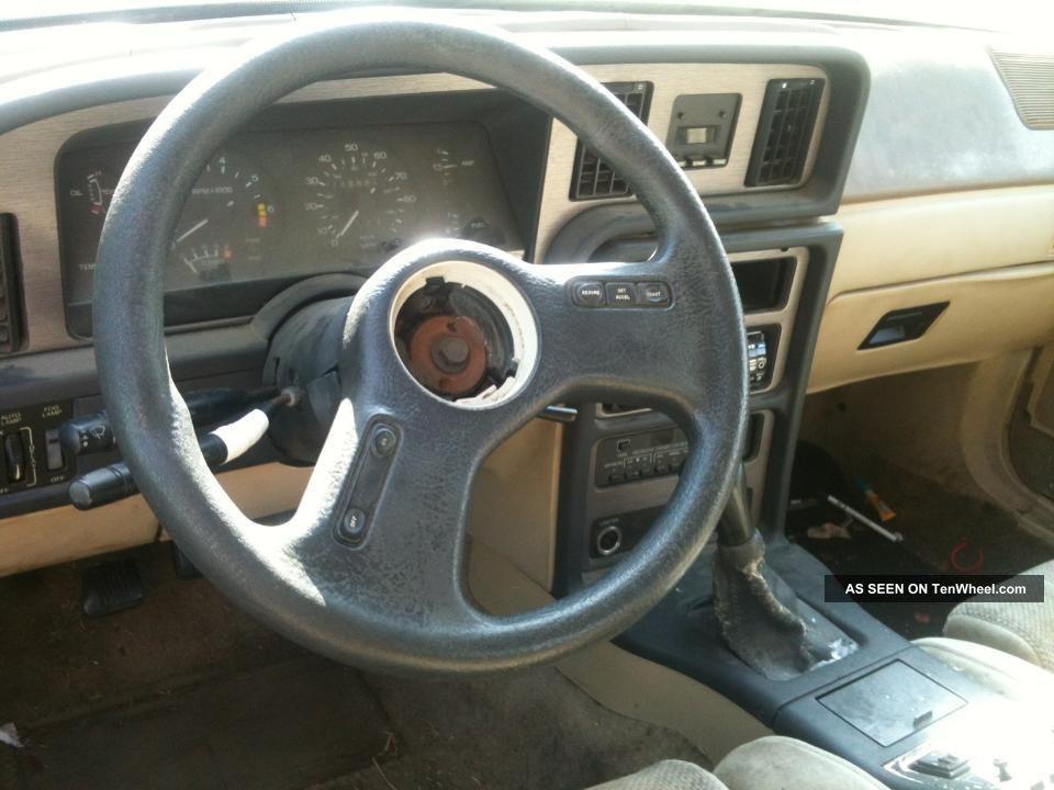1987 Ford Thunderbird Interior 1987 Ford Thunderbird