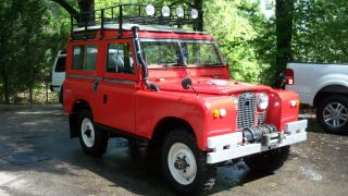 1965 Land Rover Series Iia 2a Station Wagon photo