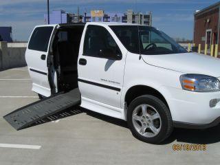 Handicap Wheelchair Van 2008 Chevrolet Uplander Base Mini Cargo Van 4 - Door 3.  9l photo
