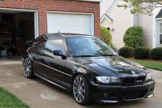 2002 Bmw 330ci Coupe 2 - Door 3.  0l Looks Like 2005 Bmw Coupe On 19  M3 Rims photo