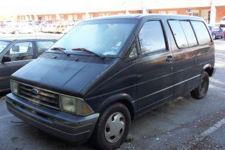 1994 Ford Aerostar Xl Mini Van 3.  0l,  Does Not Run photo