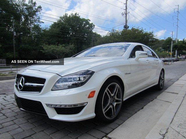 2012 Mercedes - Benz Cls63 Amg P30 550hp Cpo CLS-Class photo