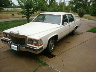 1987 Cadillac Brougham Base Sedan 4 - Door 5.  0l photo