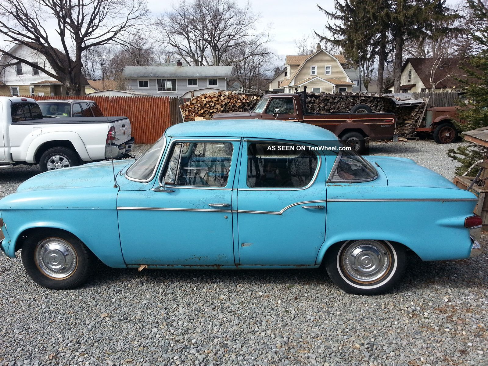 1959 Studebaker Lark Base 4 2l Sedan
