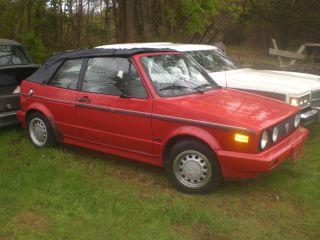 1990 Vw Cabrio Conv photo