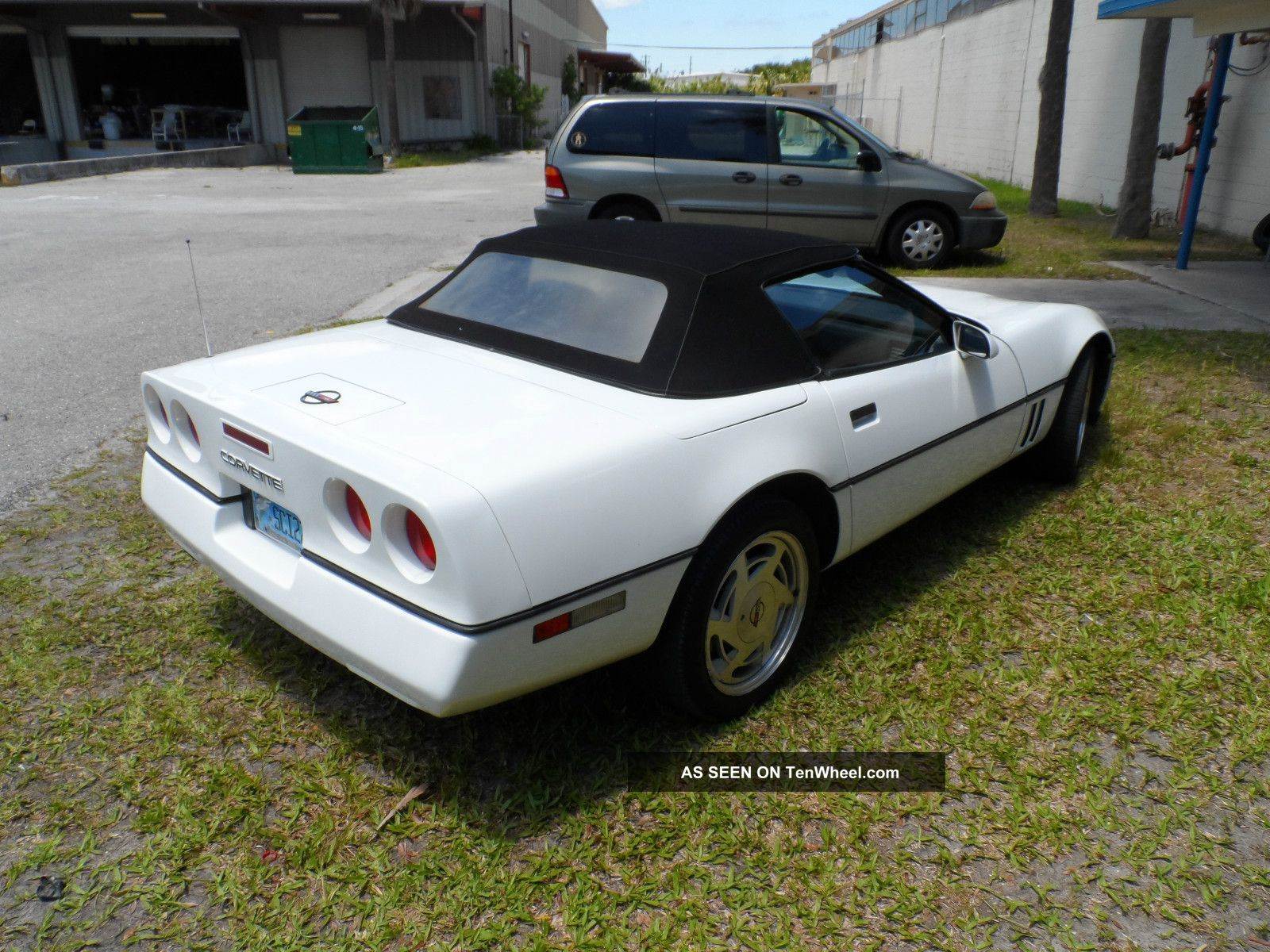 1989 Chevrolet Corvette Base Convertible 2 Door 5 7l