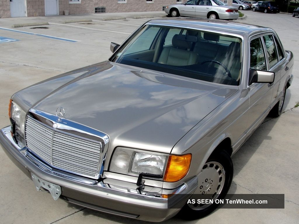 1991 mercedes benz 560sel private car for 1991 mercedes benz
