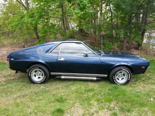 1968 Amc Amx Rare Car ( (go Pack)) ) photo