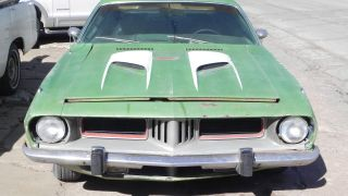 1973 Plymouth Cuda,  Running,  Drivable,  Needs Total Restoration,  Great Project photo