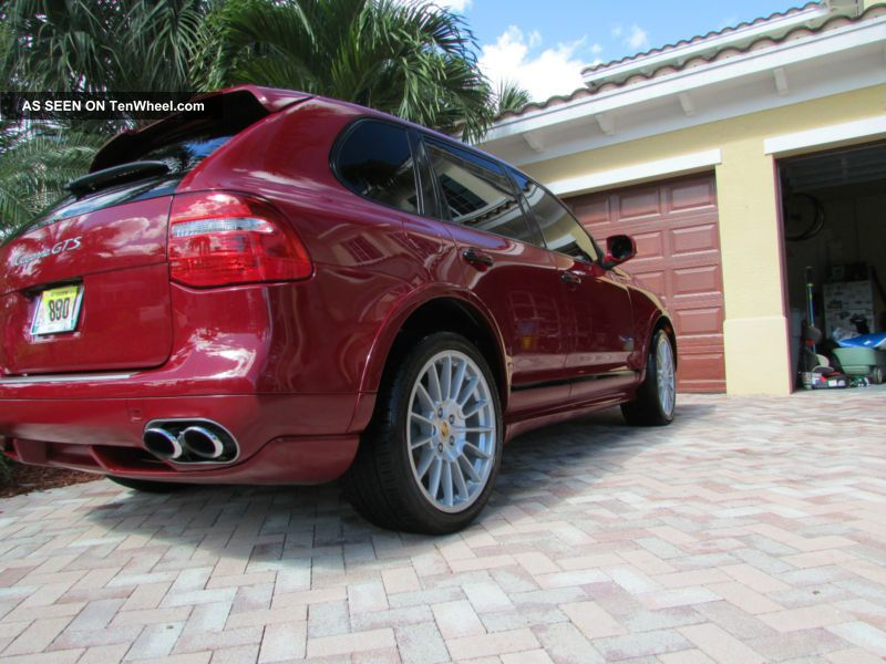 Porsche Cayenne Gts - Through Sept 2014.  Red Beauty Cayenne photo