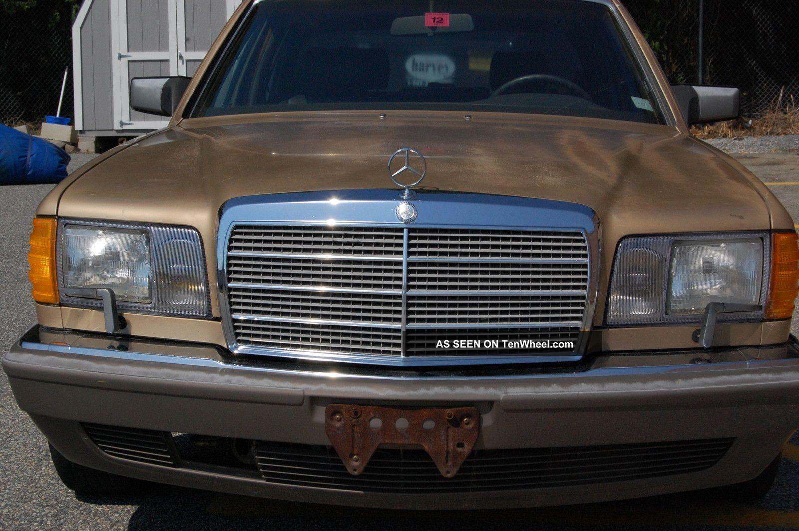 1986 mercedes benz 560 sel for 1986 mercedes benz 420 sel