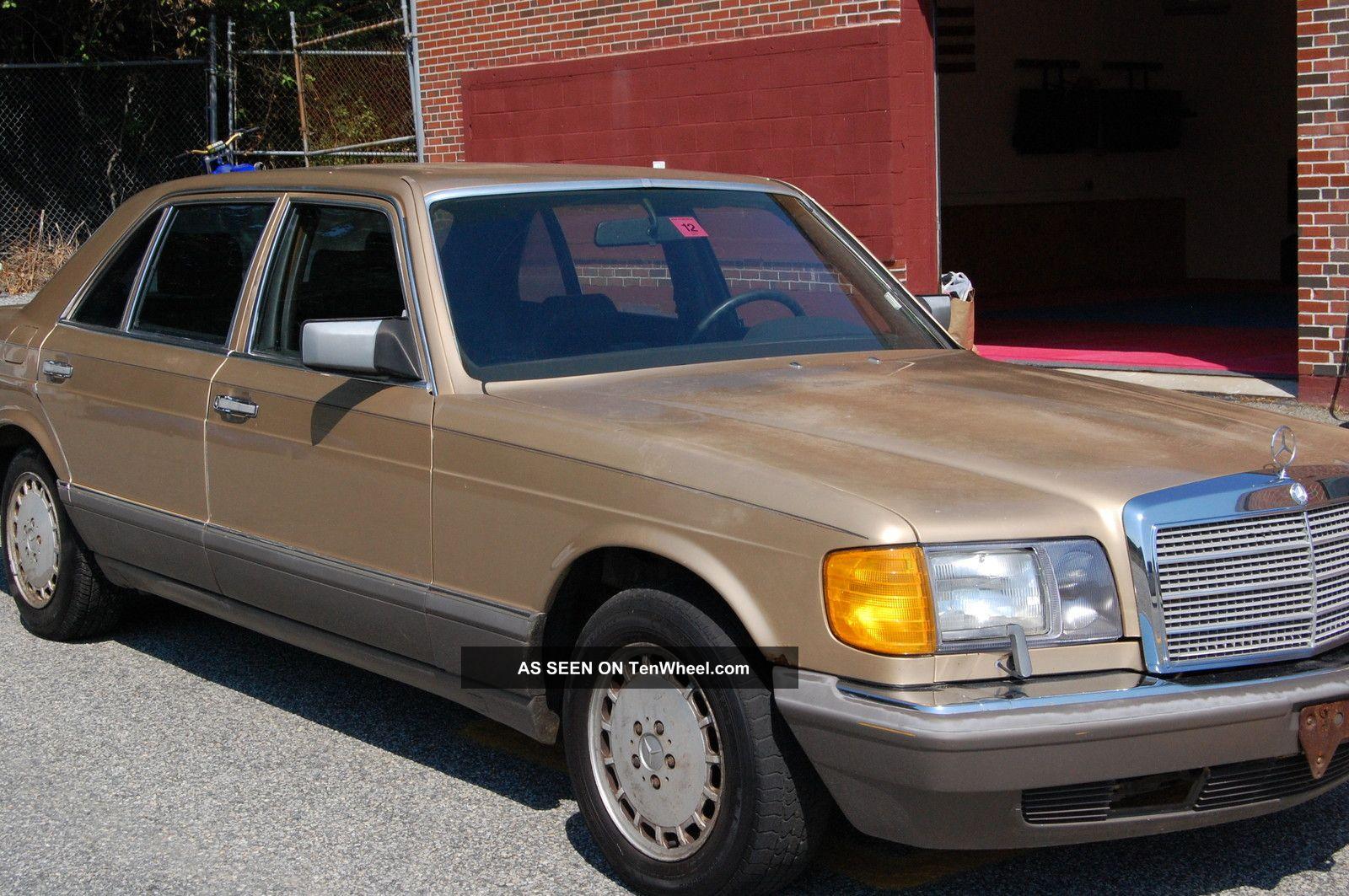 1986 mercedes benz 560 sel for Mercedes benz 1986