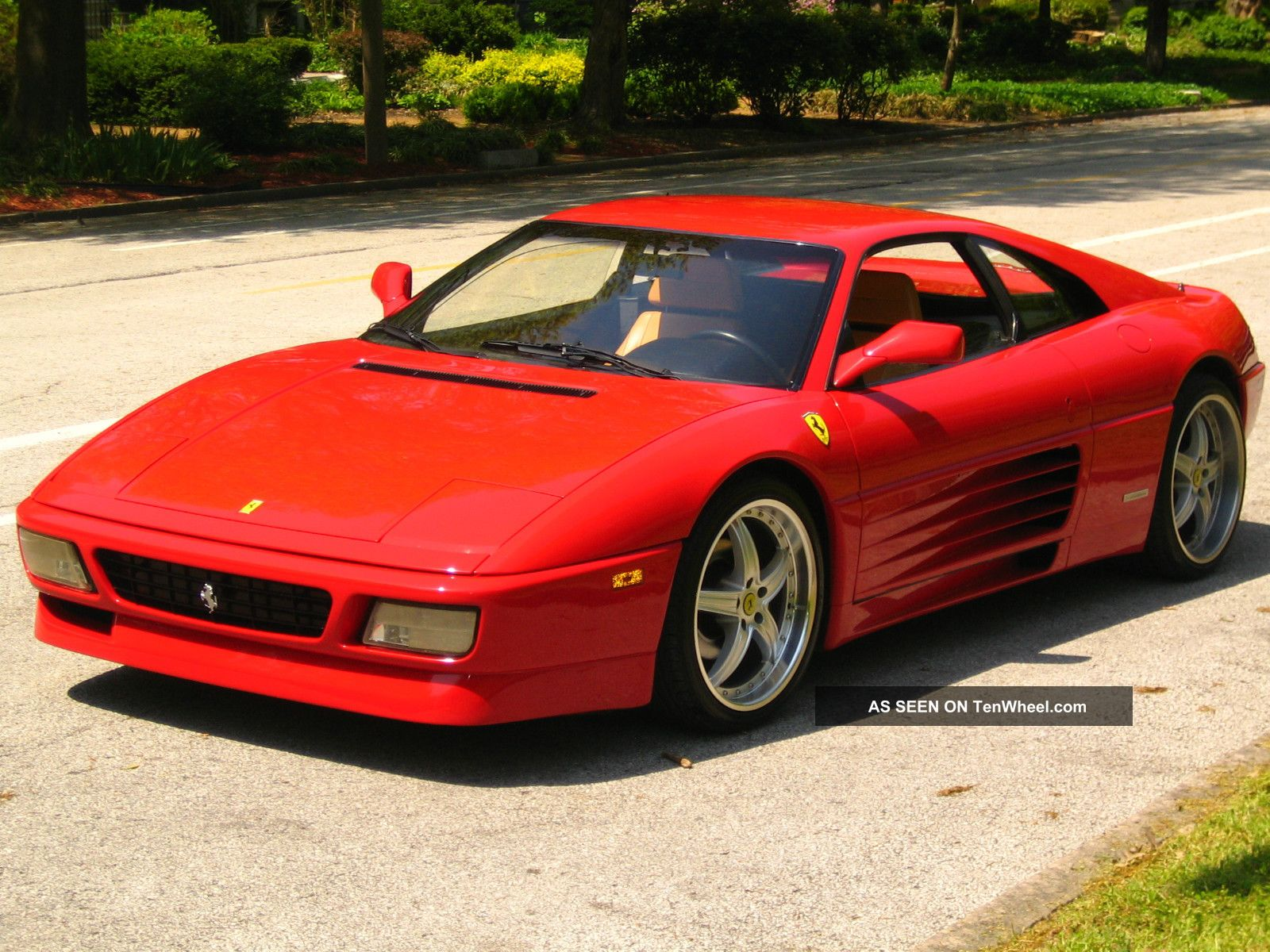 1991 Ferrari 348 Tb Base Coupe 2 Door 3 4l