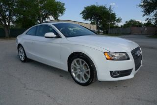 2012 Audi Coupe A5 Premium Plus Quattro Awd 2.  0l Turbo photo