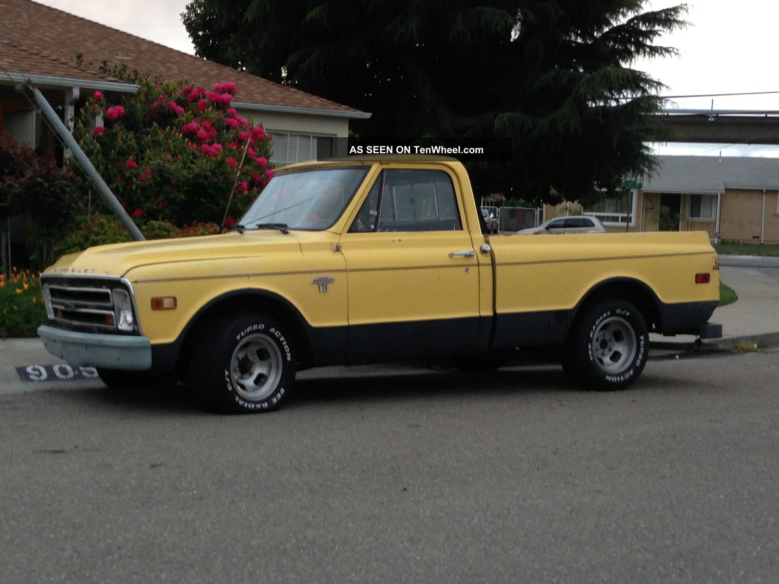 1968 Chevy C10 Short Bed Pickup 350 4spd, , C-10 photo