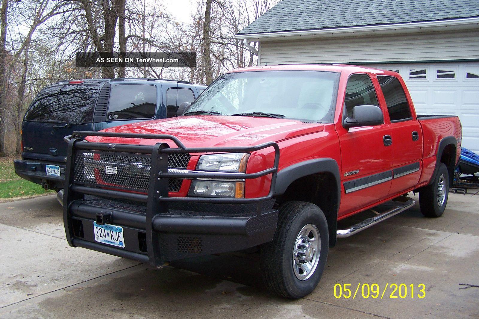 2004 Chevrolet Silverado 2500 Hd Ls Crew Cab Pickup 4 - Door 6.  0l Silverado 2500 photo