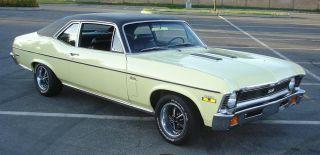 1970 Chevrolet Nova Ss 2 Dr Hardtop 350 4 Speed Posi New Car photo
