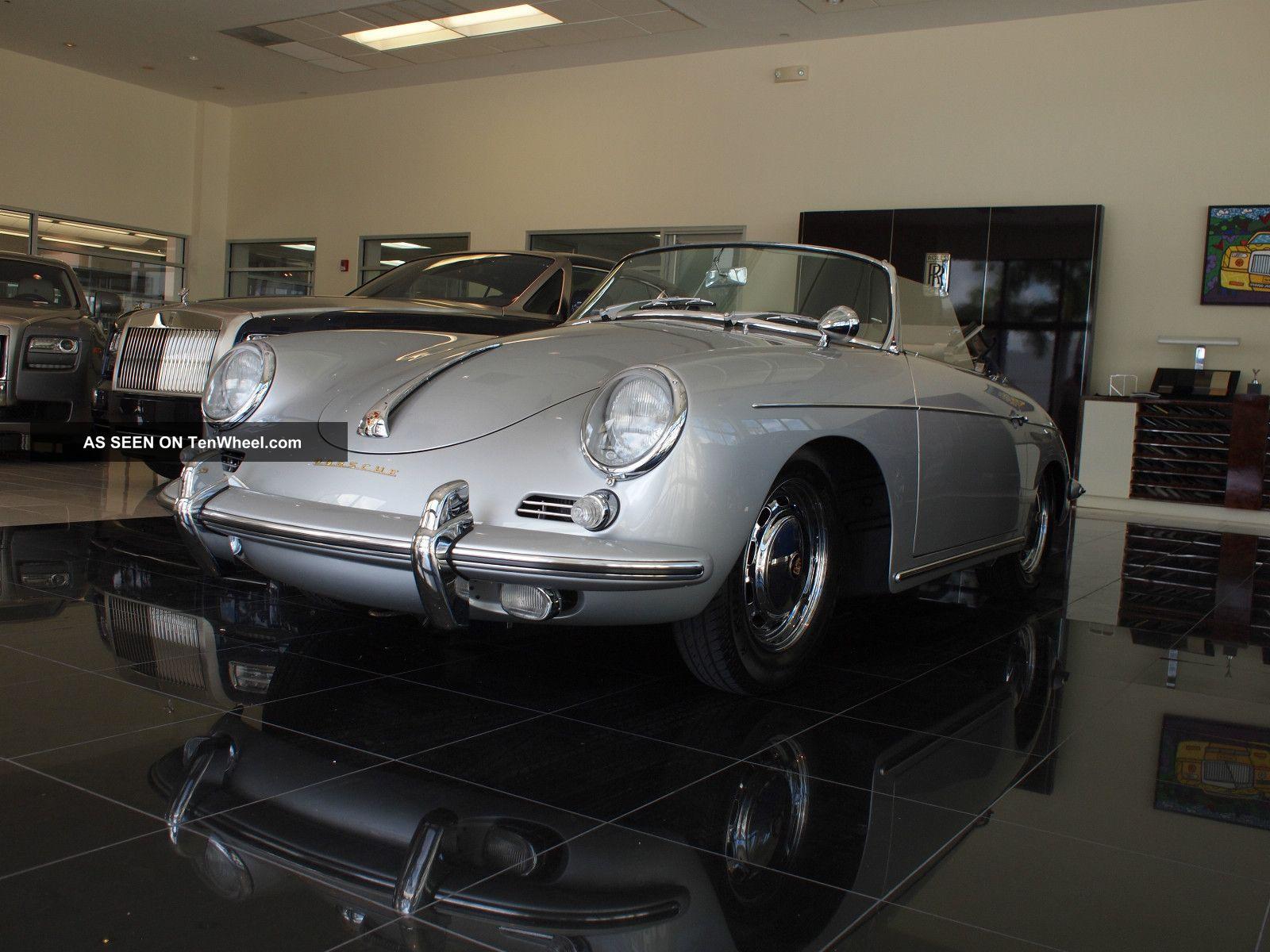 1960 Porsche 356b Roadster,  Body By Reutter 356 photo
