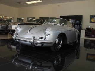 1960 Porsche 356b Roadster,  Body By Reutter photo