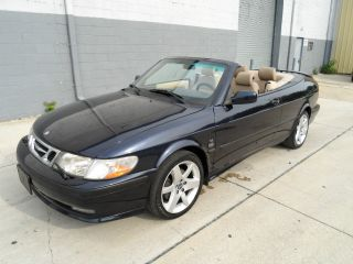 2002 Saab 9 - 3 Se Convertible 119k 5speed Turbo Sporty Summer Car photo