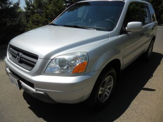 2004 Honda Pilot Ex Sport Utility 4 - Door 3.  5l Title photo