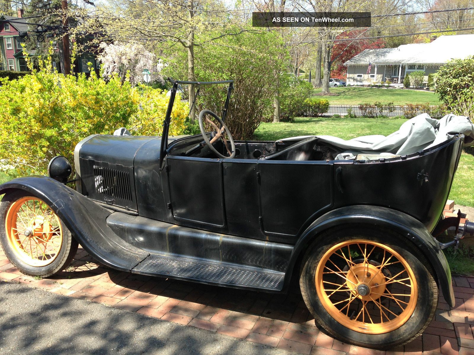 1927 Ford Model T Touring Model T photo