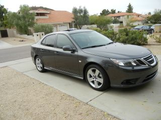 2011 Saab 9 - 3 Turbo4 Aero Sedan Only 7k Mi.  Loaded And photo