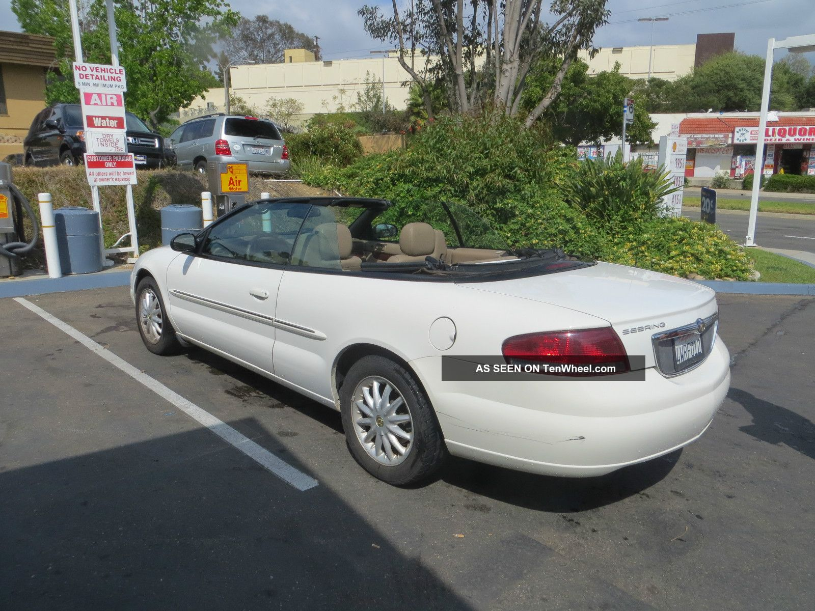 2002 chrysler sebring lxi convertible 2 door 2 7l sebring photo 3. Cars Review. Best American Auto & Cars Review