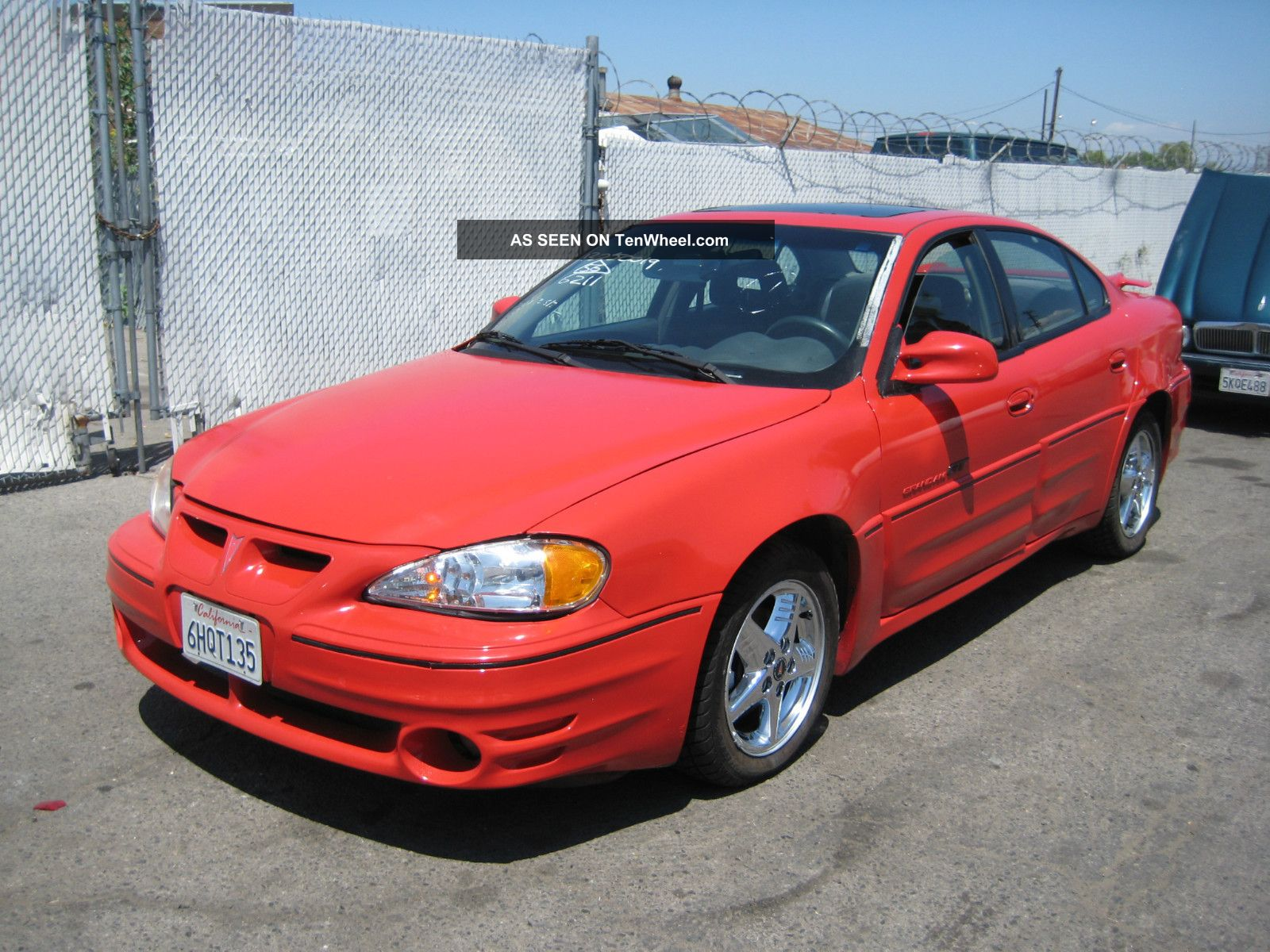 2000 pontiac grand am gt sedan 4 door 3 4l tenwheel