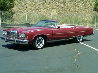 1974 Pontiac Grandville Base Convertible 2 - Door 7.  5l photo