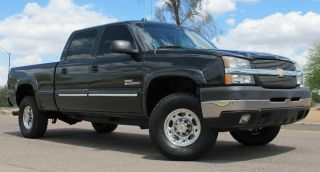 2004 Chevy Duramax Diesel 2500hd Crew Short Bed 4x4 Az photo