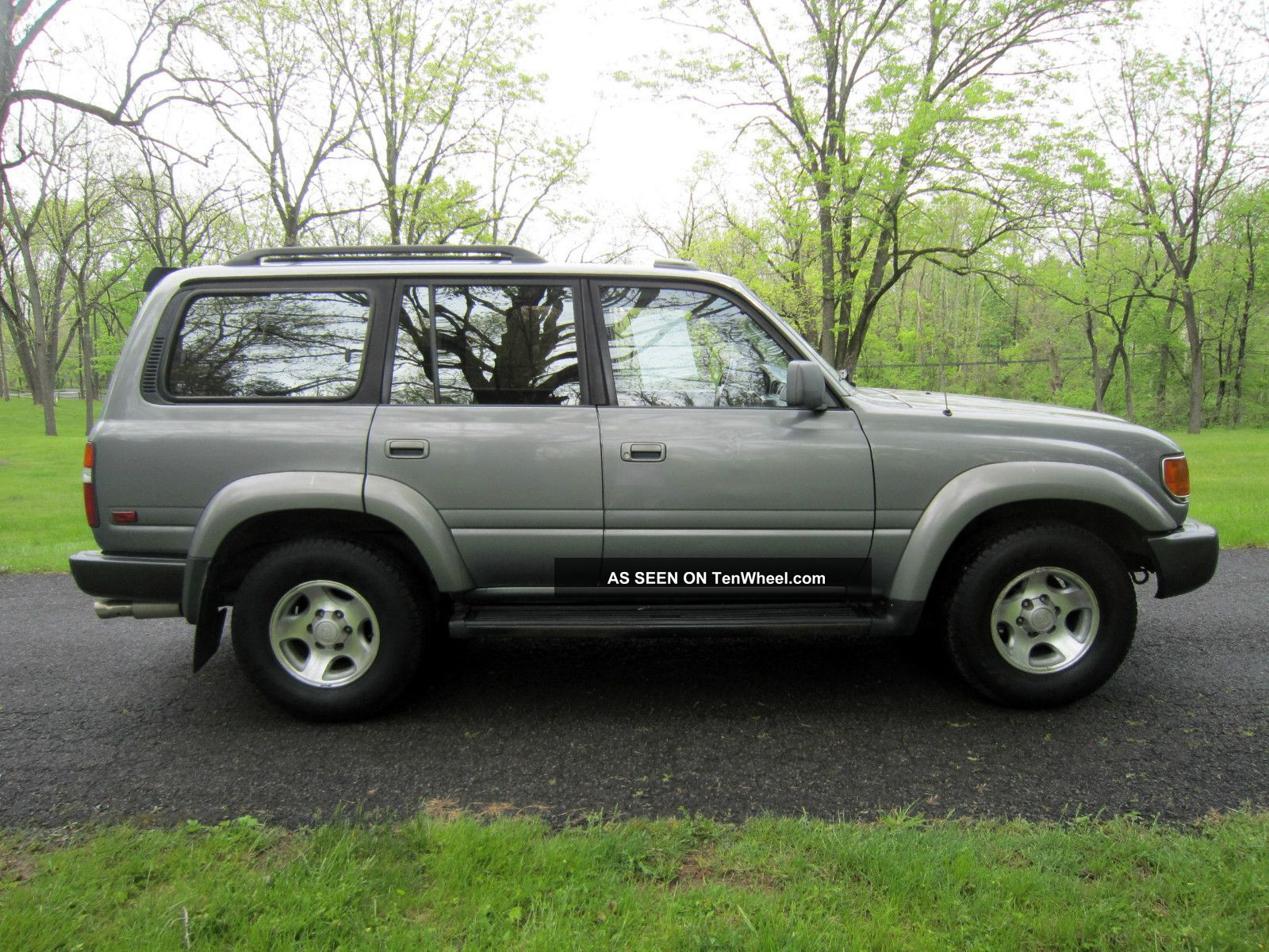 1995 toyota land cruiser supercharged with 4x4 and 3 rows of seats. Black Bedroom Furniture Sets. Home Design Ideas