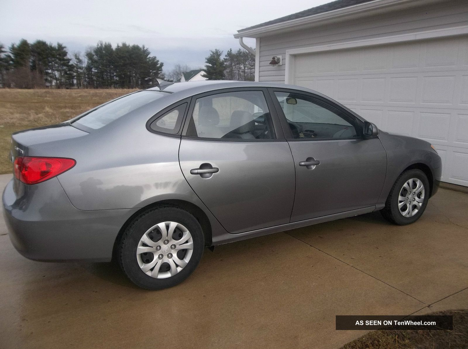 2010 Hyundai Elantra Se Sedan 4 Door 2 0l