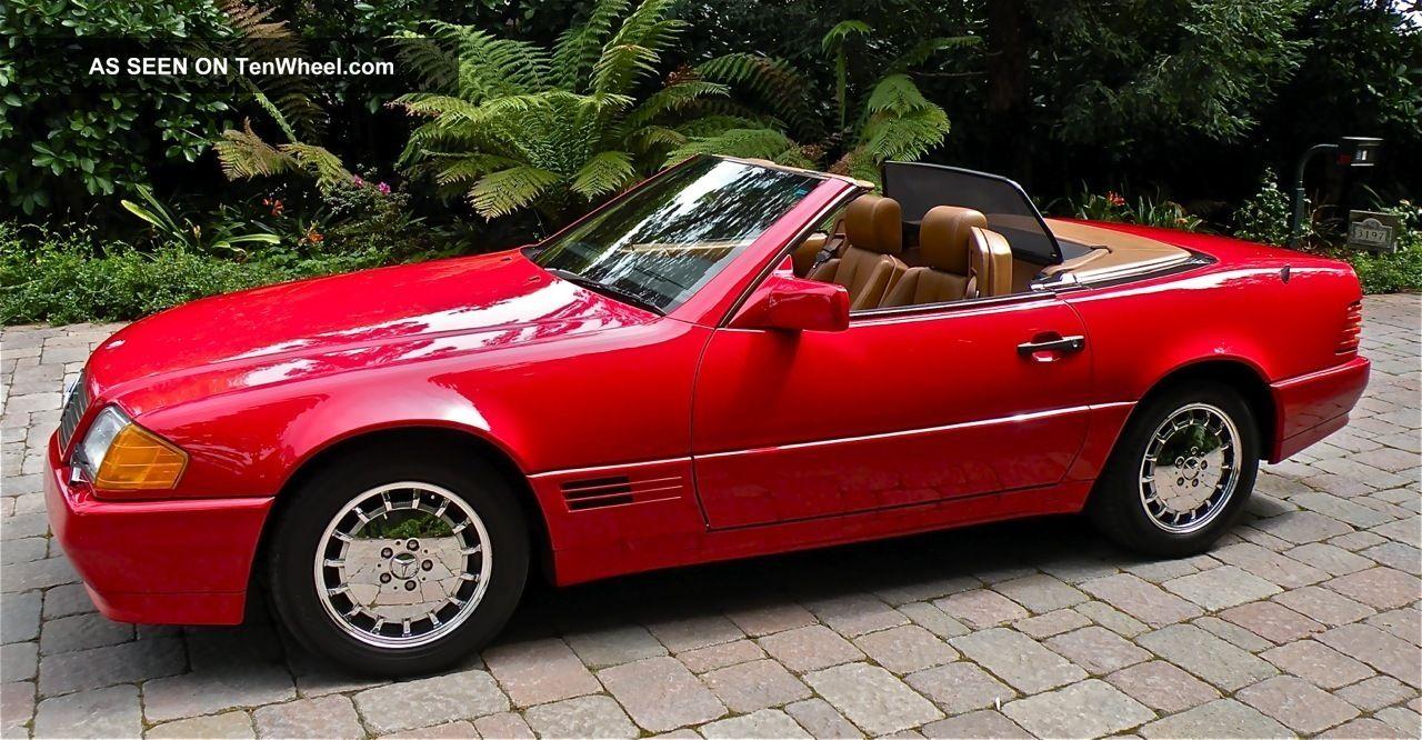 1992 Mercedes Benz 300sl Roadster 2 Door 3 0 Liter