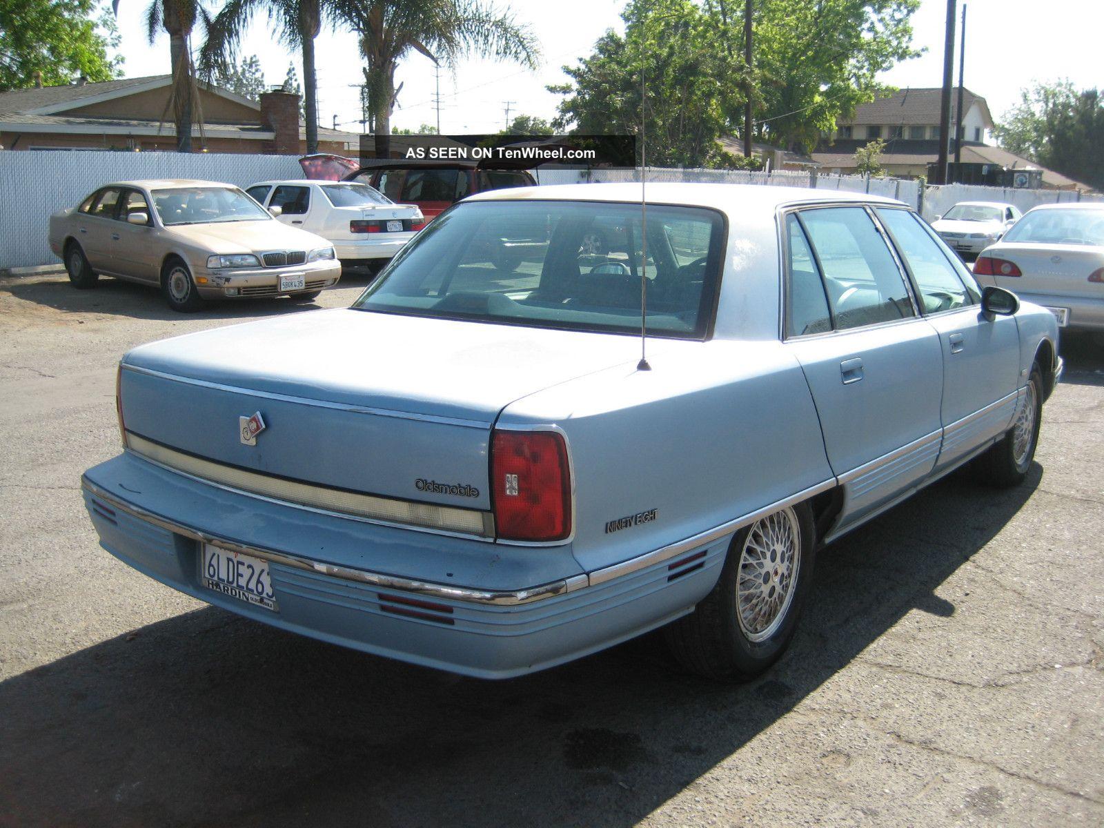 1992 Oldsmobile 98 Regency Elite Sedan 4 Door 3 8l