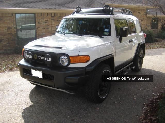 2008 Toyota Fj Cruiser Trail Teams Special Edition Sport Utility 4   Door  4. 0l