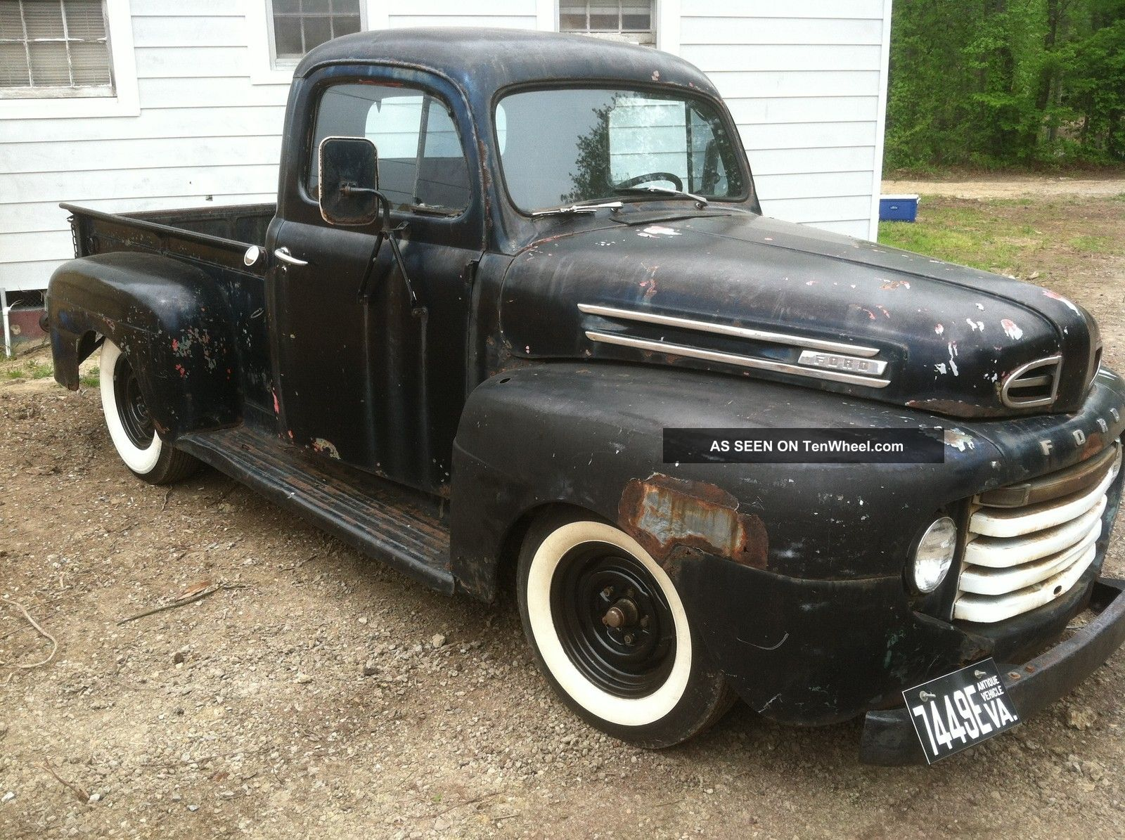 1948 Ford F1 Pick Up Truck Hot Rod Rat 302 Auto Brakes ...